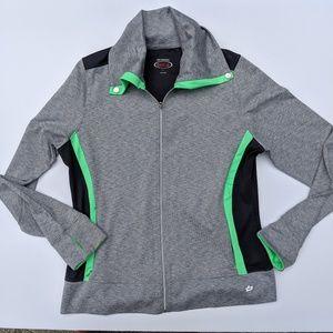 EUC Bolle Full zip Workout Jacket